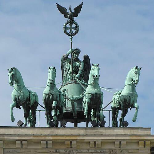 Bronze Horse Statue2