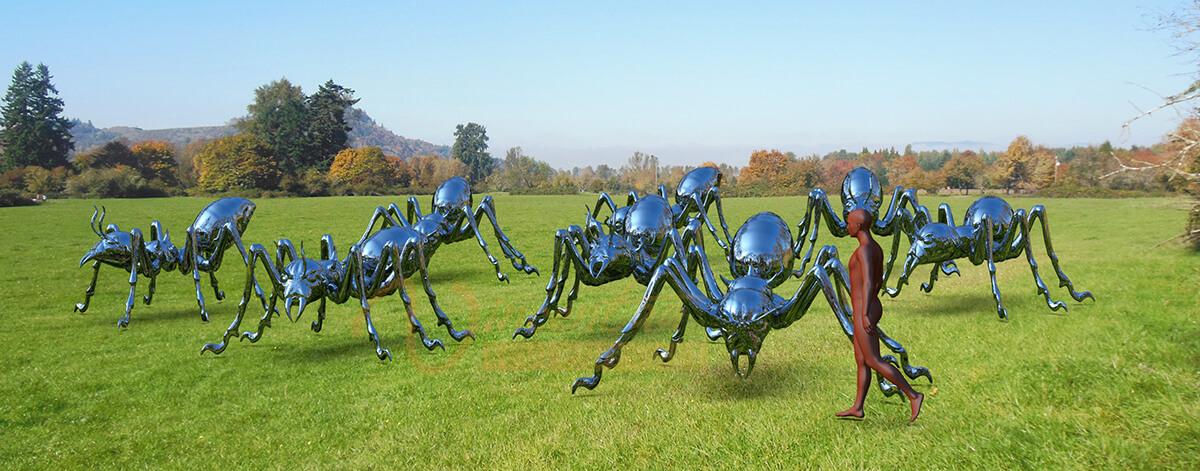 Ants Sculpture