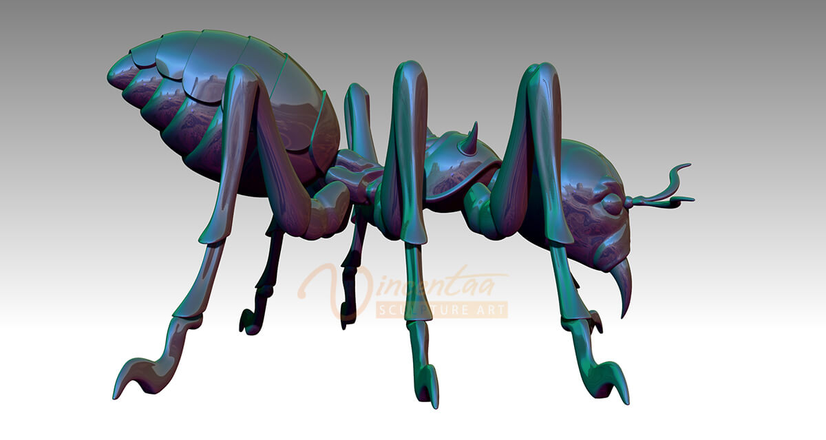 Ants Sculpture Design