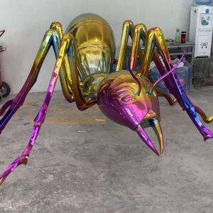 metal ants sculpture