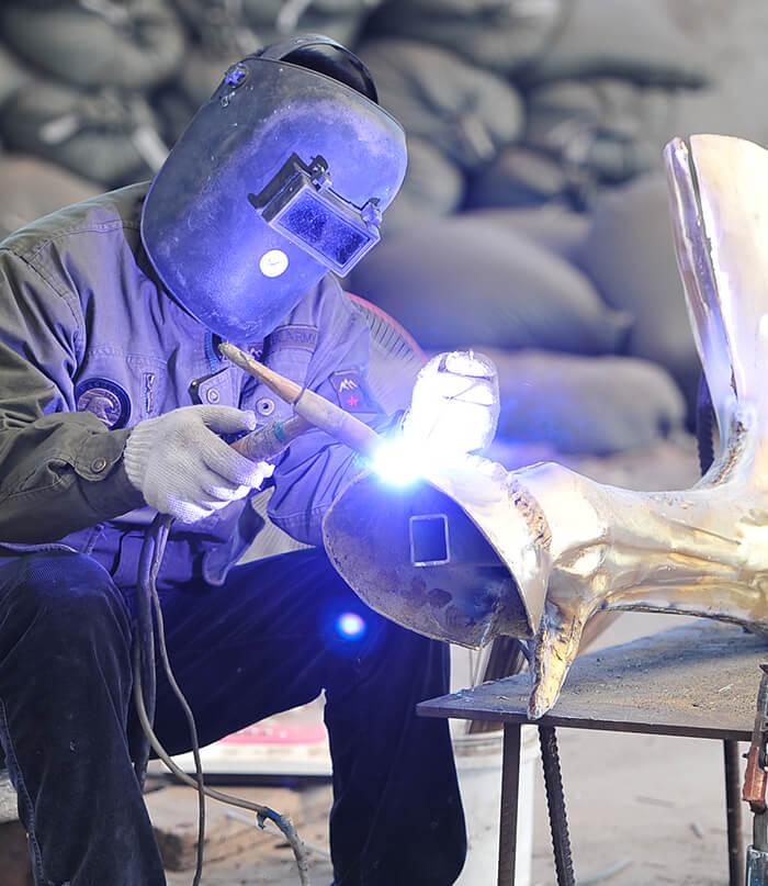 welding 压缩