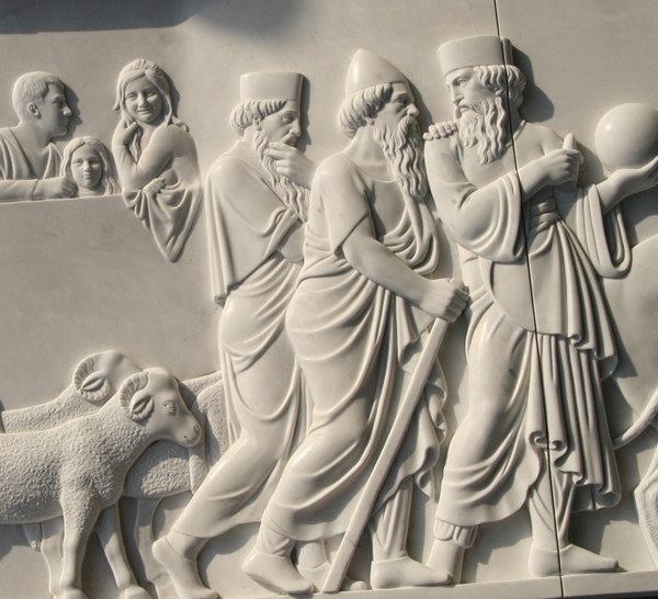marble relief