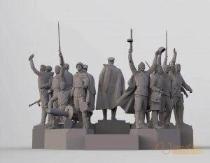 3D Sculpture Design 2