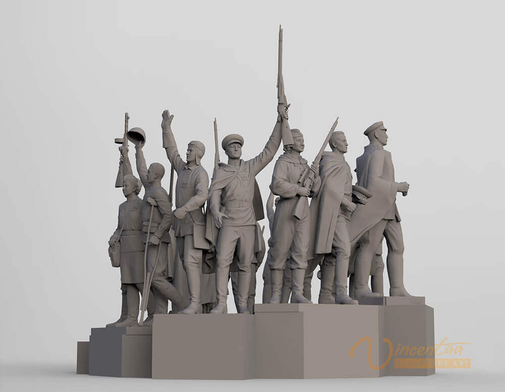 3D Sculpture Design 3