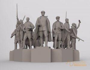 3D Sculpture Design 5