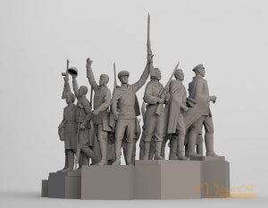 3D Sculpture Design 7