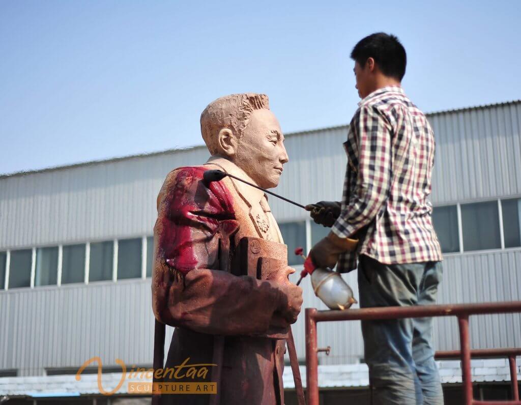 Custom Bronze Statue1