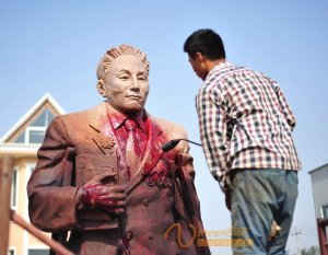Custom Bronze Statue2
