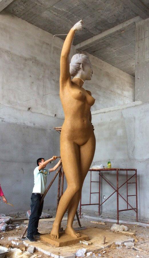 6m Custom Bronze Statue 1