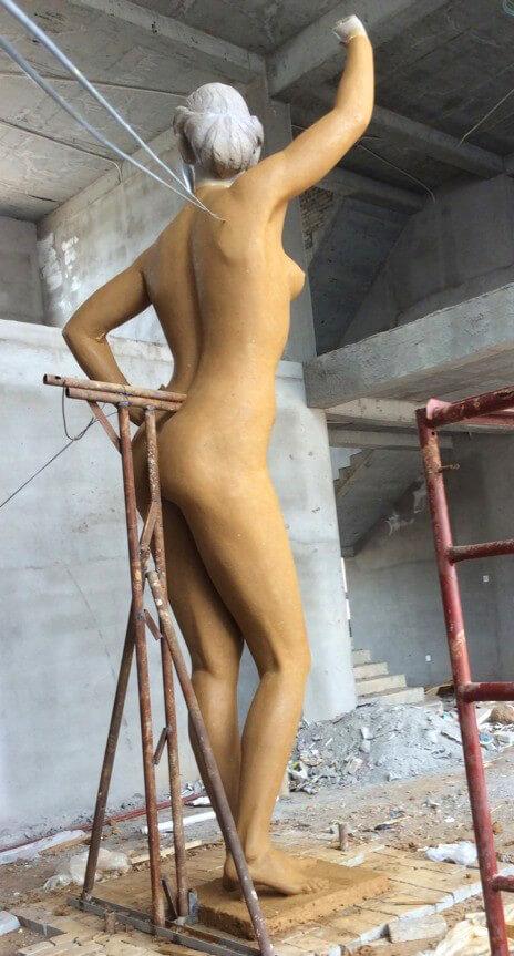 6m Custom Bronze Statue 2