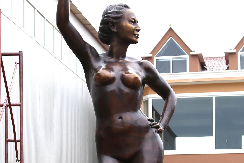 6m Custom Bronze Statue 3