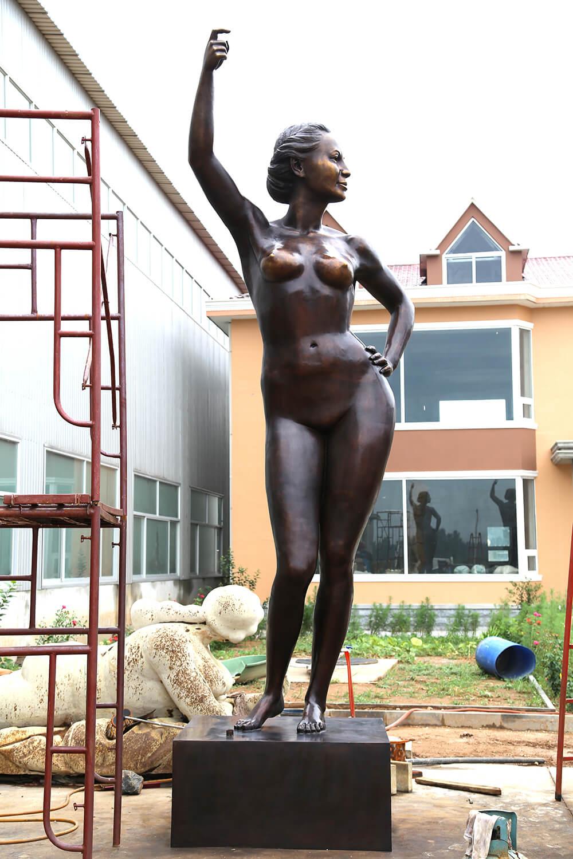 6m Custom Bronze Statue 5