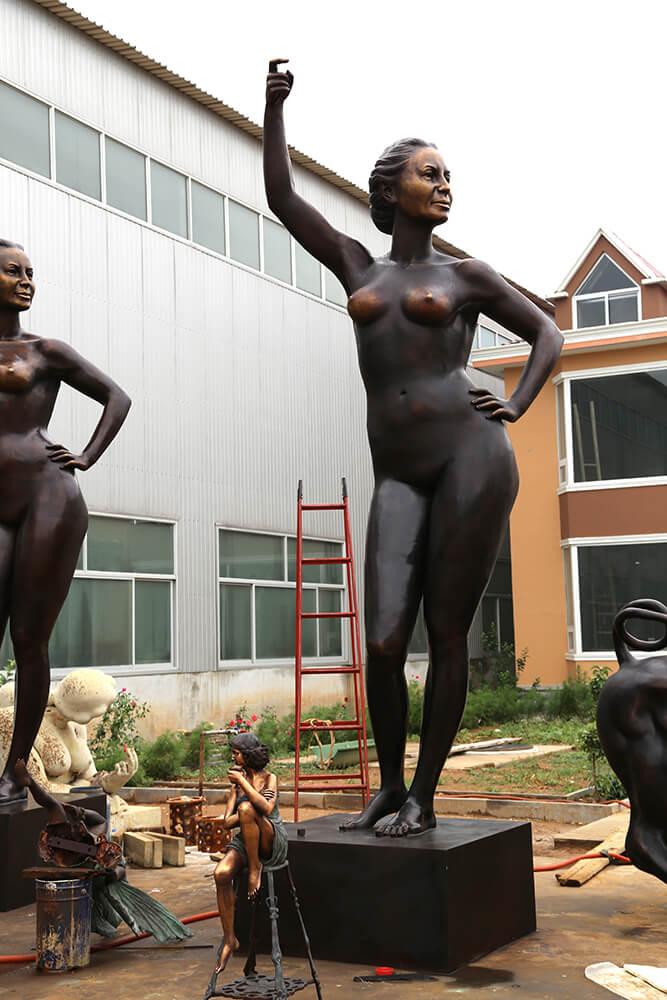 6m Custom Bronze Statue 7