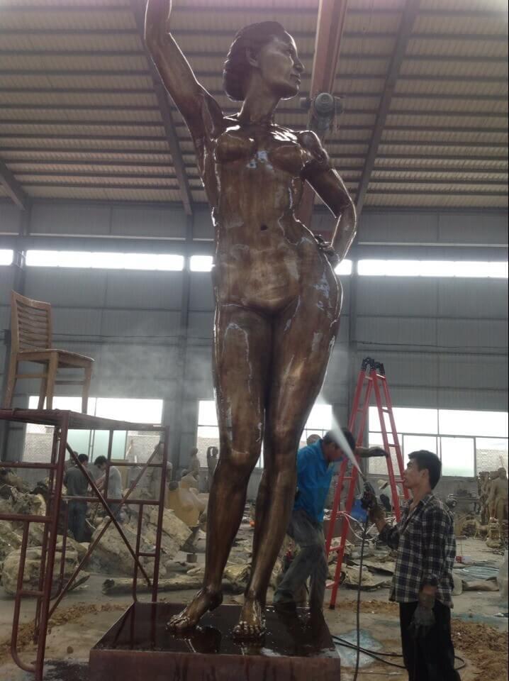6m Custom Bronze Statue 8