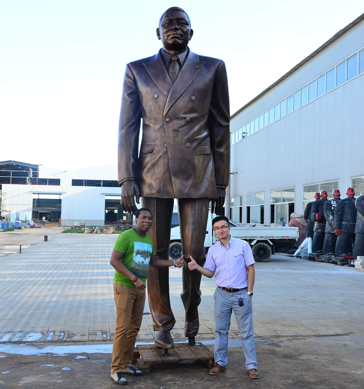 large custom statue