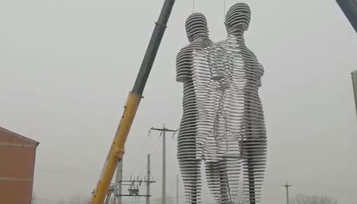 stainless steel sculpture9